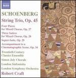 String Trio / Four Pieces of Mixed Chorus