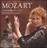 Mozart: Symphony No. 40; Ballet Music from Idomeneo - Amanda Forsythe (soprano); Apollo's Fire; Jeannette Sorrell (conductor)