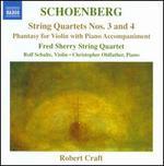 Schoenberg: String Quartets Nos. 3 & 4; Phantasy