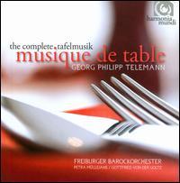 Georg Philipp Telemann: Musique de Table - Ann-Kathrin Br�ggemann (oboe); Anne-Katharina Schreiber (violin); Beatrix Hulsemann (violin); Christa Kittel (violin);...