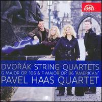 "Dvor�k: String Quartets, Opp. 106 & 96 ""American"" - Eva Karov� (violin); Pavel Haas Quartet; Pavel Nikl (viola); Peter Jarusek (cello); Veronika Jaruskov� (violin)"