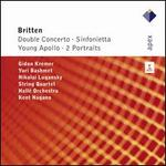 Britten: Double Concerto; Sinfonietta; Young Apollo; 2 Portraits