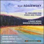Ella Adanewsky: 24 Preludes for Voice and Piano