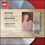 Mozart: Clarinet Concerto; Sinfonia concertante; Krommer: Concerto for two clarinets