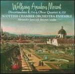 Mozart: Divertimento K. 334; Oboe Quartet K. 370