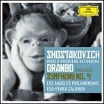 Shostakovich: Prologue to 'Orango'; Symphony No. 4 - Abdiel Gonz�lez (vocals); Adriana Manfredi (vocals); Daniel Chaney (vocals); Eugene Brancoveanu (vocals); Jordan Bisch (bass); Michael Fabiano (vocals); Ryan McKinny (vocals); Timur Bekbosunov (vocals); Todd Strange (vocals); Yulia Van Doren (vocals)