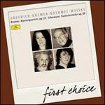 Brahms: Klavierquartett Op. 25; Schumann: Fantasiestncke, Op. 88