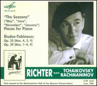 Richter Plays Tchaikovsky & Rachmaninov - Sviatoslav Richter (piano)