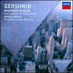Gershwin: Rhapsody in Blue; Piano Concerto; An American in Paris - AndrT Previn (piano); Pittsburgh Symphony Orchestra; AndrT Previn (conductor)