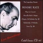 Mindru Katz Plays in Concert