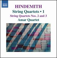 Hindemith: String Quartets, Vol. 1 - Amar Quartett