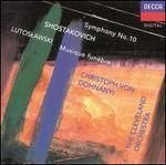 Shostakovich: Symphony No. 10; Lutoslawski: Musique FunFbre