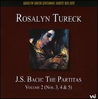 J.S. Bach: The Partitas, Vol. 2 - Rosalyn Tureck (piano)