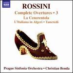 Rossini: Complete Overtures Volume 3 [Christian Benda, Prague Sinfonia Orchestra] [Naxos: 8570935]