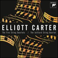 Elliott Carter: The Five String Quartets - Juilliard String Quartet