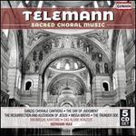 Telemann: Sacred Choral Music [Barbara Schlick; Ann Monoyios; Hermann Max] [Capriccio: C7215]
