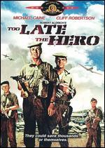 Too Late the Hero [Vhs]