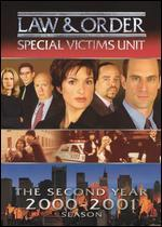 law and order special victims unit the second year