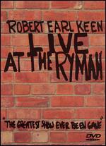 Robert Earl Keen: Live at the Ryman