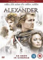 Alexander-Anthony Hopkins as Old Ptolemy; Val Kilmer as Philip; Angelina Jolie as Olympia Dvd