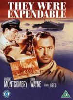 They Were Expendable [Vhs]