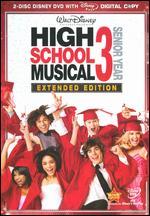 High School Musical 3: Senior Year [Extended Edition] [2 Discs] [Includes Digital Copy] - Kenny Ortega