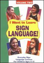 I Want to Learn Sign Language, Vol. 2