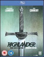 Highlander [Immortal Edition] [Blu-ray]