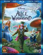 Alice in Wonderland [3 Discs] [Includes Digital Copy] [Blu-ray/DVD] - Tim Burton