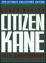 Citizen Kane [70th Anniversary] [Ultimate Collector's Edition] [3 Discs] [Blu-ray] - Orson Welles