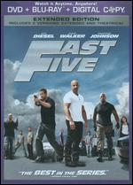 Fast Five [Rated/Unrated] [2 Discs] [Includes Digital Copy] [DVD/Blu-ray]