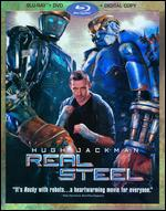 Real Steel [3 Discs] [Includes Digital Copy] [Blu-ray/DVD] - Shawn Levy