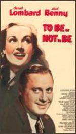 To Be Or Not to Be [Vhs]