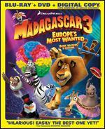 Madagascar 3: Europe Most Wanted [Blu-ray/DVD]