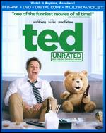 Ted [Unrated] [Includes Digital Copy] [UltraViolet] [2 Discs] [Blu-ray] - Seth MacFarlane