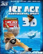 Ice Age: Continental Drift 3D [Includes Digital Copy] [3D/2D] [Blu-ray/DVD]