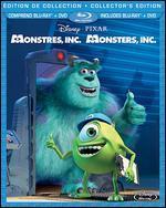 Monsters, Inc. (Bilingual) [Blu-ray/DVD]