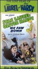 Laurel & Hardy: We Fall Down [Vhs]