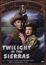 Twilight in the Sierras