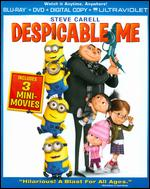 Despicable Me [2 Discs] [Includes Digital Copy] [UltraViolet] [Blu-ray/DVD] - Chris Renaud; Pierre Coffin