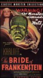 The Bride of Frankenstein [Vhs]