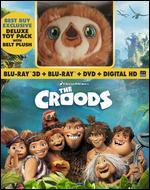 Croods [Includes Digital Copy] [With Plush Toy] [3D/2D] [Blu-ray/DVD]