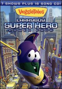 LarryBoy Super Hero Power Pack - VeggieTales