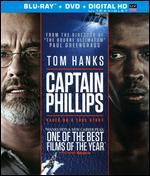 Captain Phillips [2 Discs] [Includes Digital Copy] [UltraViolet] [Blu-ray/DVD]