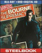The Bourne Supremacy [2 Discs] [Includes Digital Copy] [UltraViolet] [SteelBook] [Blu-ray/DVD]
