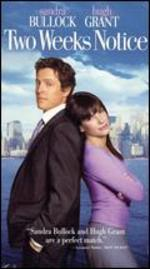 Two Weeks Notice [Vhs]