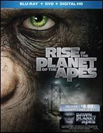 Rise of the Planet of the Apes [Includes Digital Copy] [Blu-ray/DVD] [Movie Money]