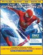The Amazing Spider-Man 2-Includes an Exclusive All-New Limited-Edition Marvel Comic Book + New Magno Collectible Case (Blu-Ray 3d/Blu-Ray/Dvd/Digital Hd Ultraviolet Combo Pack)