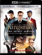 Kingsman: The Secret Service [4K Ultra HD Blu-ray/Blu-ray] [Includes Digital Copy]