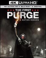 The First Purge [Includes Digital Copy] [4K Ultra HD Blu-ray/Blu-ray]